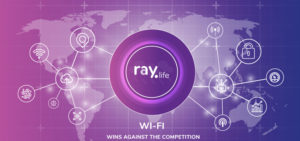 Raylife WiFi Access Point in Your Office